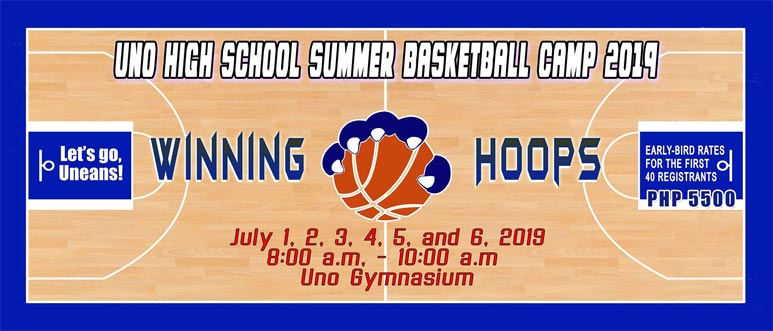 Uno High School Summer Basketball Camp 2019