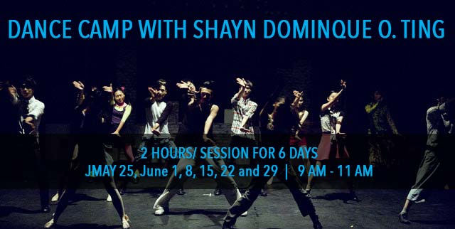 dance-camp with Shayn Domingue TIng