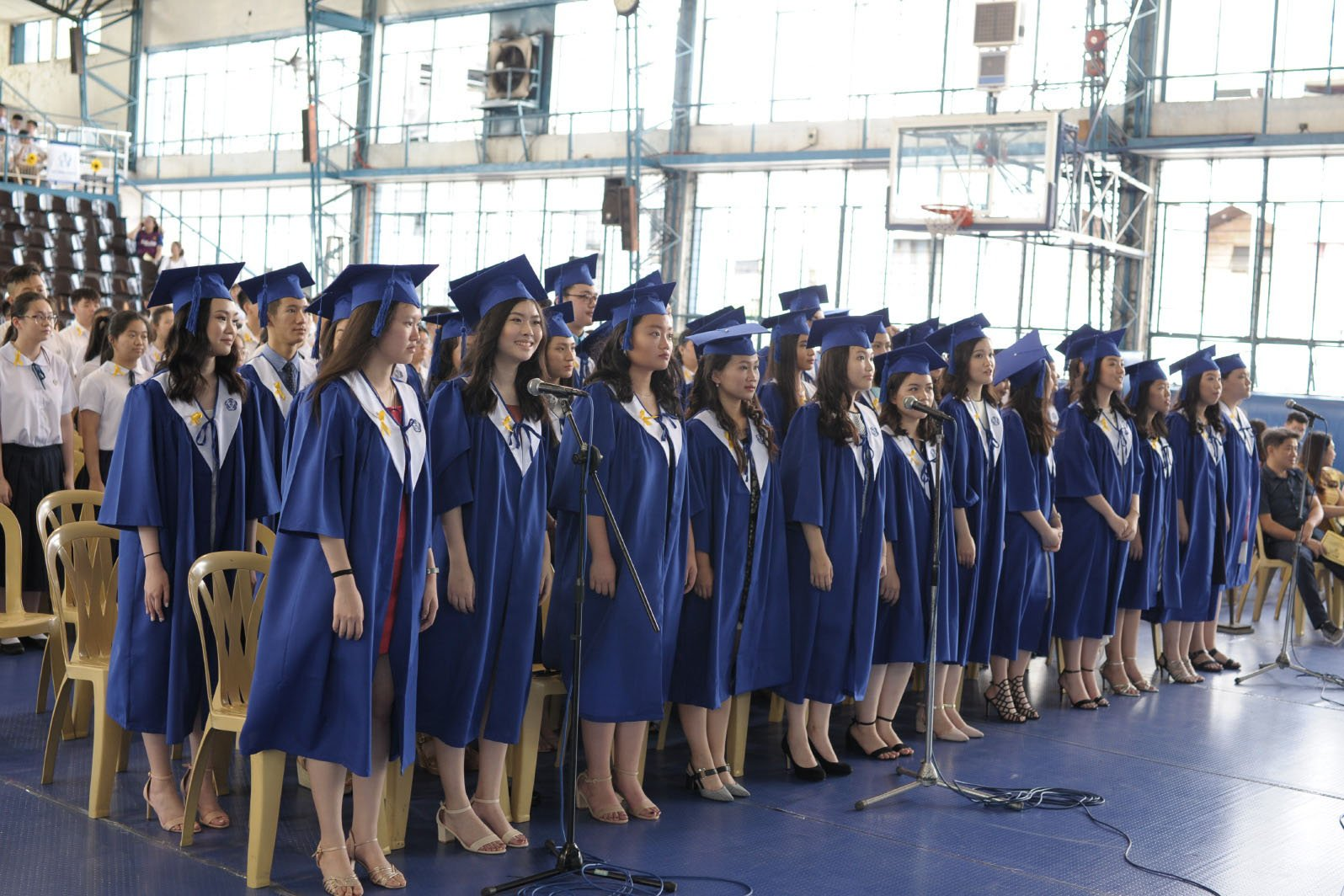 Commencement and Moving Up Ceremonies for Elementary, Junior High, and Senior High