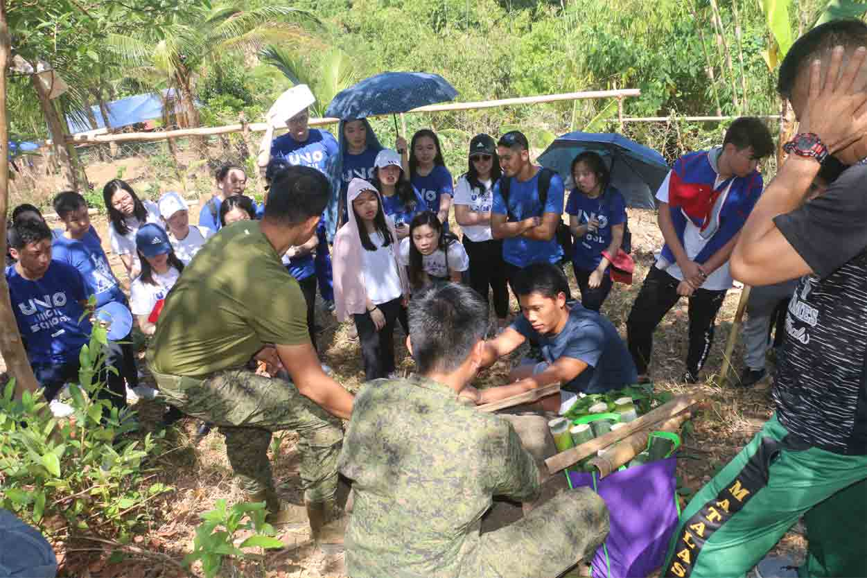 Grade 12 Immersion Class – Farm and Camping @ Tanay, Rizal